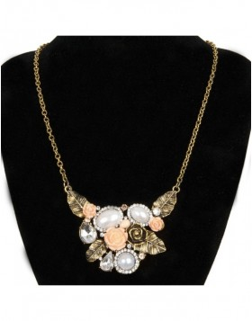 necklace salmon B0300510 Clayre Eef