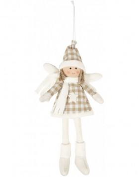 doll white/beige in the size 13x4x29 cm
