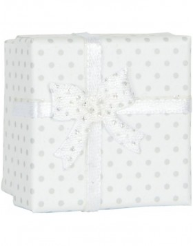 gift box DOTS 6PA0398W by Clayre Eef