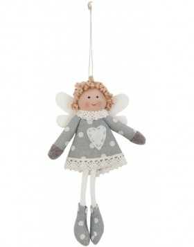 doll grey/white in the size 17 cm