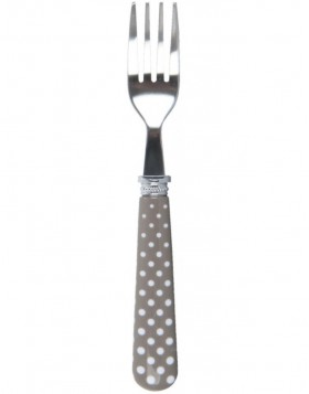 63009E Clayre Eef pastry fork Romantic Dotted
