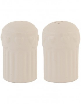 6CE0322 Clayre Eef Salt & Pepper - natural