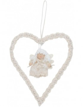 63020 Clayre Eef decoration hanger ANGEL