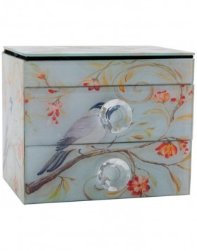 63218 Clayre Eef storage box BIRD