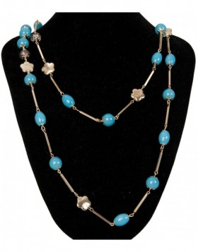 necklace turquoise B0300525 Clayre Eef