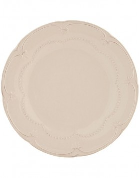 6CE0261 Clayre Eef RUSTIC ROMANCE plate - natural