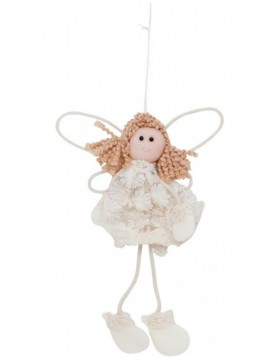 63021 Clayre Eef Christmas decoration ANGEL