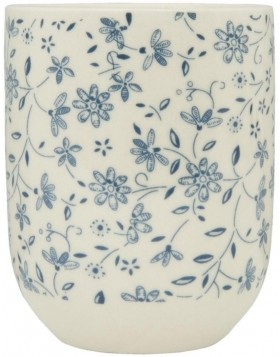 6CEMU0012 Clayre Eef BLUE BLOSSOM cup - blue