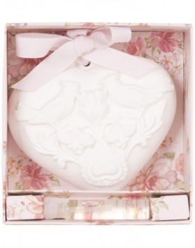 62964M Clayre Eef gift box with fragrance (lily)