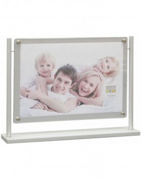 Photo stand silver 10x15 cm
