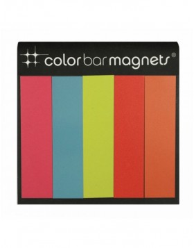 BRIGHT COLOR BARS Dekomagnete Vinyl Streifen 5 St�ck