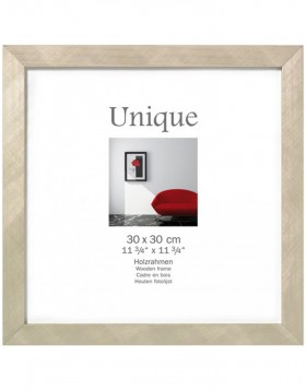 Photo frame UNIQUE  5 - 40x40 cm, champagne
