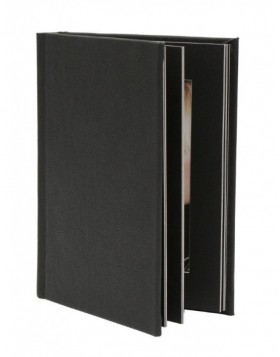 15x20 cm mat-photo album JOLANA black
