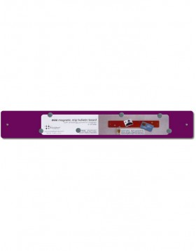 Purple mini Magnetic Strip 14x2