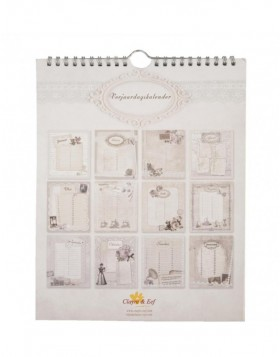Dutch birthday calendar Vintage designs