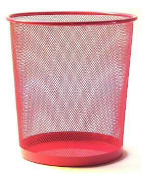 paper bin by officional pink
