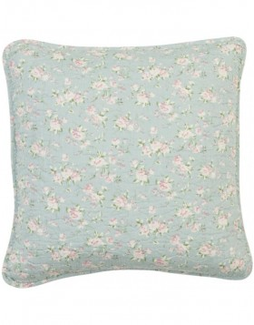 romantic cushion cover with floral pattern 40x40 cm