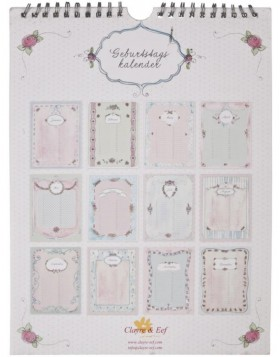 romantic birthday calendar German