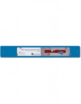 Ice-blue mini Magnetic Strip 14x2
