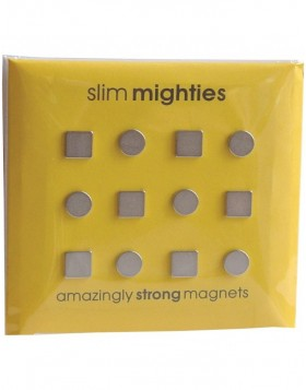 ultra-d�nne Magnete 12 St�ck SLIM MIGHTIES