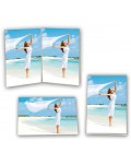 Acrylic photo frame ZEP portrait and landscape mode double frame