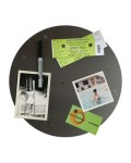 Round Big Dot stainless steel magnetic board 12´in diamet