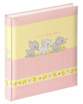 Baby album FUNNY FRIENDS - pink, 28 x 30,5 cm