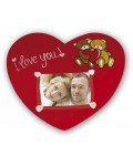 Picture Frame Pillow I Love You 10x15,5 cm