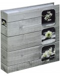 Fino Memo Album, for 200 photos with a size of 10x15 cm, pine grey