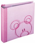 slip-in photo album Sammy - 22x22 cm - pink