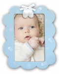 baby photo frame FRANCESCO blue 10x15 cm