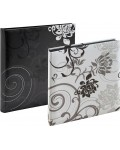 Photo Album Grindy 30x30 cm black and white