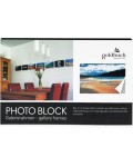 photo block black 50x75 cm