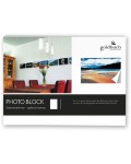 photo block white 15x20 cm