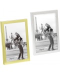 Karla photo frame aluminium silver and gold