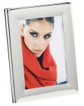 Photo frame silvered Lilou 3 formats
