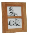 Gallery frame Aulia 2 pictures 4x6 - alder