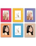 Wooden photo frame Capri 6 colors 10x15 cm and 13x18 cm
