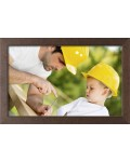 Wooden frame Classic 7 x 10 - 50x70 cm Special sizes Special Glass