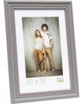 Deknudt wooden frame S45GF gray and white