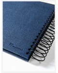 Photo album Yours - small spiral bound - dark blue