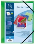 Kreacover A4 folder assorted