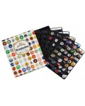 Ringbinder for Bottle Cap Collection - SET