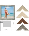 Landhaus 730 wooden frame special glasses and sizes up to 50x70 cm