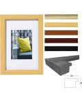 Pillow picture frames polystyrene frame with imitation wood