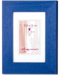 Wooden picture frame Roma 5x7 - blue