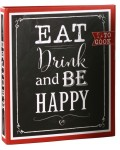 Rezeptordner Eat, Drink & Be Happy