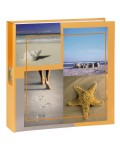 Sea Shells Memo Album, for 200 photos with a size of 10x15 cm, beige
