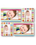 SET 4 photo frame adhesive for the 10x15 cm