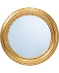 mirror with golden frame 50 cm